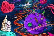 "AstroPictures / ""A astronomia compele a alma a olhar para o alto e nos transporta deste mundo para outro."""