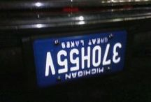 Tags / License Plates ..... old classic ones, foreign ones and especially the vanity tags (some really creative thoughts in that group) / by Sandra M Gay