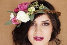 Inspiration Flowers & Hair / Tocados para el pelo..