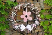 Handmade home decoration - Handmade domácí dekorace