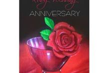 40th Ruby Wedding Anniversary Red Rose Personalized Suite / Red Rose 40 Years of Marriage Anniversary Celebration Invitations, Gifts and Party Favors ready to be customised to your specifics. Oil on Canvas by Jan Sinclair.