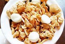 Granola Recipes / Recipes for Granola / healthy granola recipes, easy granola recipes, low calorie granola recipes, vegan granola recipes