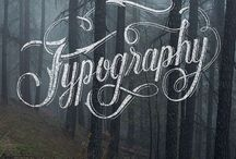 Typography&Lettering / by Eugenia P