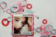 Love and Valentine's Scrapbooking / Scrapbook Layout inspiration for Valentine's Day and anything LOVE!  / by Stuff4Crafts