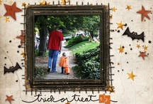 Scrapbooking ** Fall & Halloween  / Scrapbook Layout inspiration for Fall. Includes Back to School, Halloween and Thanksgiving / by Stuff4Crafts