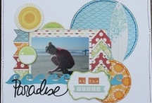 Summer & Beach Scrapbooking / Scrapbook layouts for anything Summer. Includes great ideas and designs for the 4th of July, Fun at the Beach, Hot Summer Sunny Days.  / by Stuff4Crafts