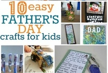 Father's Day Crafts / All crafts for Father's Day. Inspiration and DIY for Dad! / by Stuff4Crafts