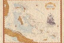 Nautical Charts / Nautical charts for navigation, framing, and decoration!