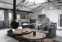 Industrial / Industrial home décor inspiration