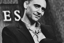 Tom Hiddleston / A beautiful soul ♥. I'd love to share joy as he does ;)