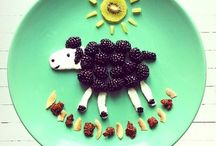 Making Snacktime Fun! / Don't get me wrong, I don't think any human parent should do this everyday. However, from time to time, these are super cute ideas to put a smile on their little faces. Use sparingly, keep the element of surprise.  (And make the rest of us feel like being human is okay...ha ha ha!)