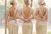 Glitzy Wedding / Everything you need to help spark some sparkly ideas for a glitter themed wedding. For the lovely ladies who were born with glitter in their veins.