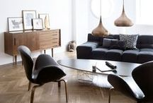 Retro / Retro-inspired furniture, interiors and living spaces