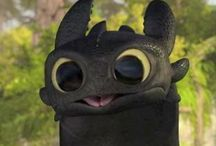 How to train your dragon? / I love Toothless❤️