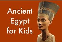 Ancient Egypt for Kids / Ancient Egypt Lessons, Ancient Egypt Art Projects, Ancient Egypt for Kids / by Cindy @ The Art Curator for Kids