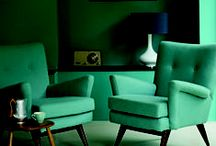 Greens / Green Interior design ideas