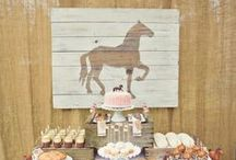 Concept Board: Kentucky Derby Party / Concept and ideas for inspiration on a Kentucy Derby-themed party for client Bijoux Destin restaurant in Miramar Beach, FL