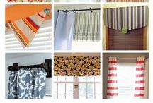 Curtain Ideas / Inspiration for that window you don't know how to dress...