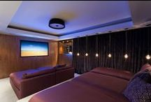 Home Theater | Window Treatment Inspiration