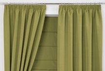 Pencil Pleat Curtains | Window Treatment Inspiration