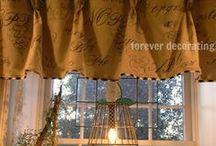 Valance Curtains | Window Treatment Inspirations