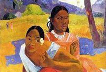 Art I love - Paul Gauguin / Colour!