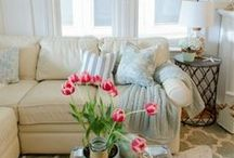 RENTING?  Decorating Tips for those who rent. / Decorating tips for RENTERS to help them 'own' their home.