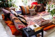 Boho / Bohemian interior design ideas