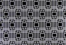 Geometric Curtain Fabric | ideal Drape Makers