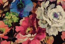 James Dunlop Indent Curtain Fabric