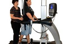 LiteGait / LiteGait® is a gait training device that simultaneously controls weight bearing, posture, and balance over a treadmill or over ground. It creates an ideal environment for treating patients with a wide range of impairments and functional levels.