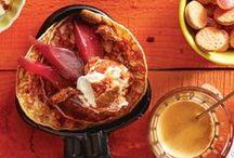 Gourmet / Een heerlijk avondje aan tafel met familie en vrienden.