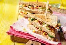 Variëren met brood / Met brood kun je eindeloos variëren én je kan het de hele dag eten: van ontbijt tot avondeten!