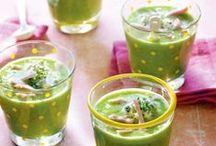 Soep / Lekkere opwarmen met een stevige soep, of juist een lichte soep als lunch: hier vind alle soeprecepten voor lunch en diner.