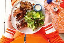 Oranje boven! / Leuke oranje recepten voor het WK of voor Koningsdag!