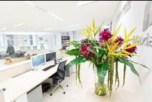 Corporate flowers by Floral Instinct / Artificial Flower arrangements by Floral Instinct