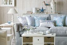 Coastal Style Living Rooms