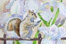 Natalia Piacheva Art Watercolor / http://www.piachevan.com/