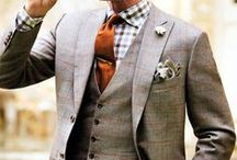 Winsome Style / This is more of your British gentlemen.  Modern fit, suave, a touch of flair - nothing over the top, keeps style simple, but adds a pop of color in accessories.  Not afraid to rock a bowtie.