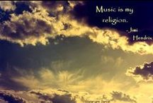 Music / Music is the language of souls / by SewBoho Boutique