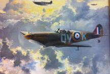 Great Aviation Art / My late Dad's Paintings