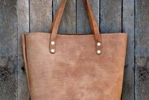 Handmade Leather Tote Bags / by EverHandmade