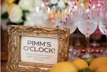 English Wedding / Pins of beautiful things to make the perfect English wedding. Think pretty florals, shabby chic, vintage and handmade