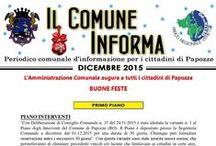 #IlComuneInforma 2015 / Periodico comunale d'informazione per i cittadini di Papozze.