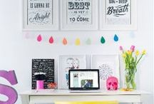 Beautiful Office Space / Beautiful, creative and inspirational desk spaces.