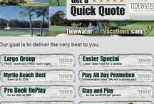 Quick Quotes Myrtle Beach Golf Packages / Quick Quotes for all your Myrtle Beach Golf Packages whether a twosome or a large group. Including current golf specials, exclusive promos to Tidewater Golf Vacations Concierge services. Now available from the Myrtle Beach Golf packages provider, at  http://tidewatergolfvacations.com/quick-quotes-myrtle-beach/   NOW for more golf specials, packages in North Myrtle Beach or Myrtle Beach we invite you to call 843-420-1046 so we can make, customize and deliver your next Myrtle Beach Golf Vacation.