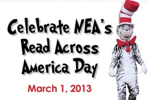 Read Across America Day: Dr. Seuss! / March 1 is the National Education Association's Read Across America Day, in honor of beloved children's author Dr. Seuss' birthday! Take a loot at our Seussical pins and read one of his books with your child today!