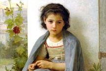 kinderen/children / Paintings of children
