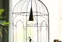 BIRD CAGE  EGGS WIRE Iron / by Moïra