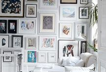 Wall gallery, framed / by I M